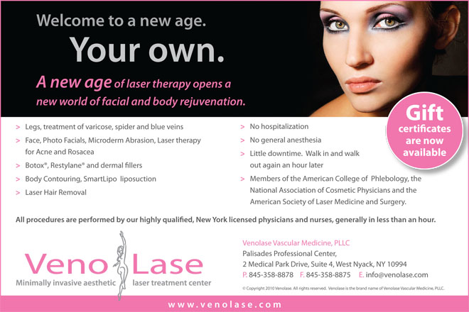 Venolase Introductory Ad
